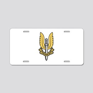 Who Dares Wins Aluminum License Plate