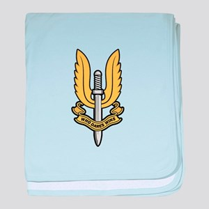 Who Dares Wins baby blanket