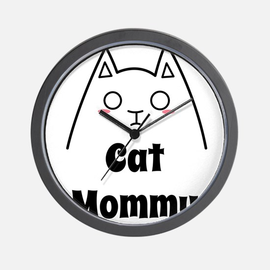 Love My Cat Mommy Wall Clock