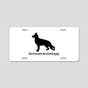 Deutscher Schaferhund Aluminum License Plate