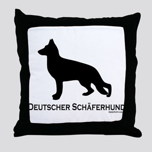 Deutscher Schaferhund Throw Pillow
