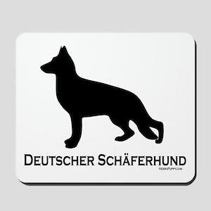 Deutscher Schaferhund Mousepad