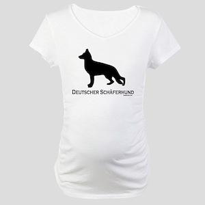 Deutscher Schaferhund Maternity T-Shirt