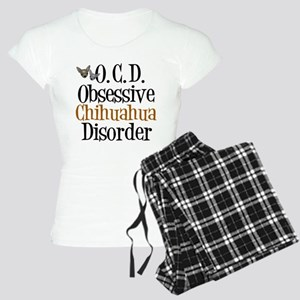 Obsessive Chihuahua Disorder Women's Light Pajamas