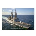 USS CHANDLER Postcards (Package of 8)