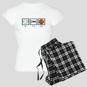 Eat Sleep Basketball Women's Light Pajamas