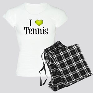 I Heart Tennis Women's Light Pajamas