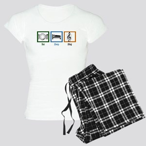 Eat Sleep Sing Women's Light Pajamas