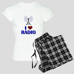 I Love Radio Women's Light Pajamas
