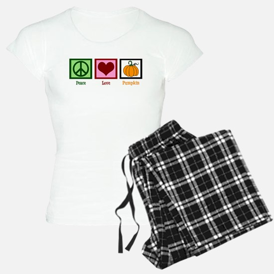 Peace Love Pumpkin Pajamas