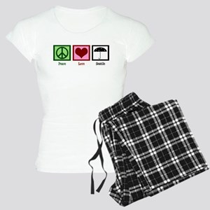 Peace Love Seattle Women's Light Pajamas