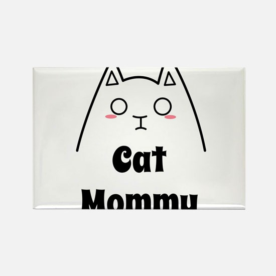 Love My Cat Mommy Magnets