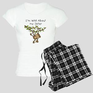 Wild About My Sister Women's Light Pajamas