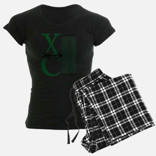 XC Run Dark Green Black Pajamas