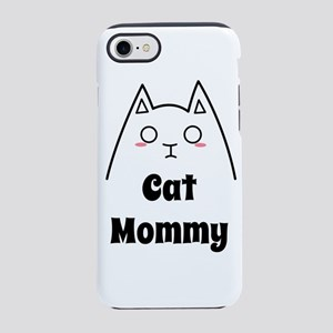 Love My Cat Mommy iPhone 7 Tough Case