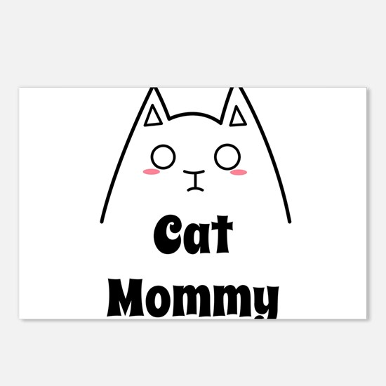 Love My Cat Mommy Postcards (Package of 8)