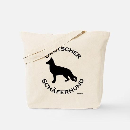 Deutscher Schaferhund Tote Bag