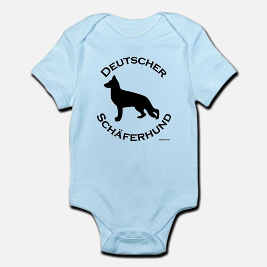 Deutscher Schaferhund Infant Bodysuit