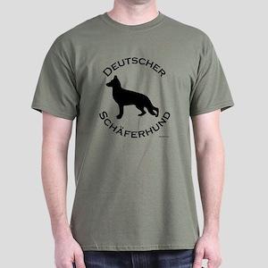 Deutscher Schaferhund Dark T-Shirt