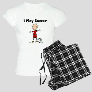 Boy I Play Soccer Women's Light Pajamas