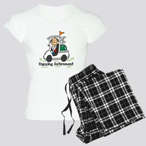 Retired and Golfing Women's Light Pajamas