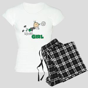 Volleyball Girl Women's Light Pajamas