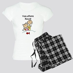 Vacations Rock Women's Light Pajamas