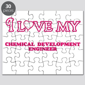 I love my Chemical Development Engineer Puzzle