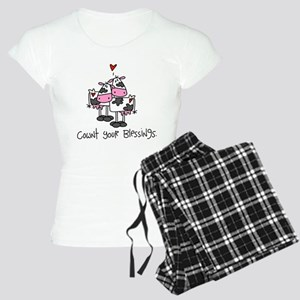 Cownt Your Blessings Women's Light Pajamas