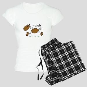 Brown Horse Women's Light Pajamas