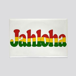 Jahloha Hawaiian Irie Rectangle Magnet