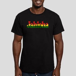 Jahloha Hawaiian Irie Men's Fitted T-Shirt (dark)