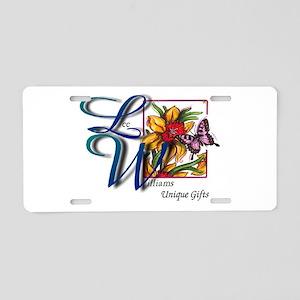Lee Williams ~ Unique Gifts Aluminum License Plate