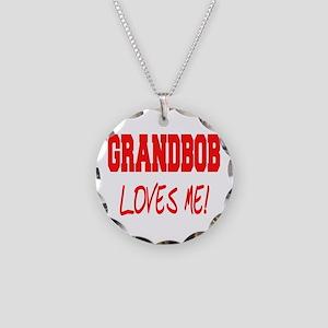 GrandBob Necklace Circle Charm