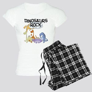 Dinosaurs Rock Women's Light Pajamas