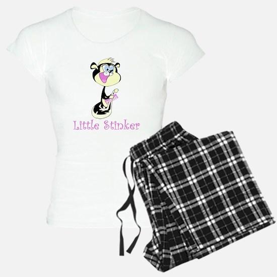 Girl Little Stinker Pajamas