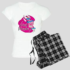 Sword Girl Pirate Women's Light Pajamas