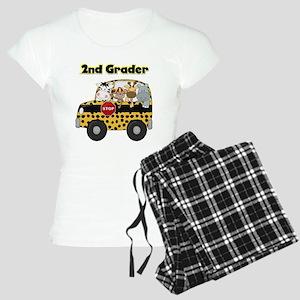 Zoo Animals 2nd Grade Women's Light Pajamas