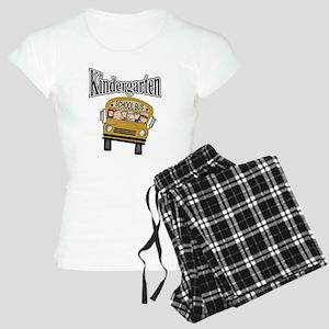 School Bus Kindergarten Women's Light Pajamas