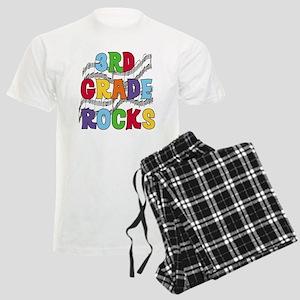 Bright Colors 3rd Grade Men's Light Pajamas