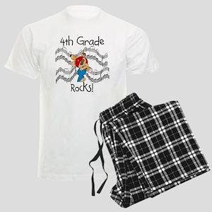 4th Grade Rocks Men's Light Pajamas