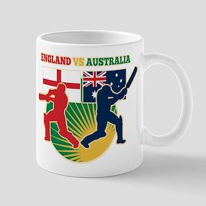 Cricket England Australia Mug
