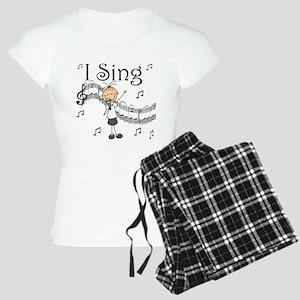 I Sing (FEMALE) Women's Light Pajamas