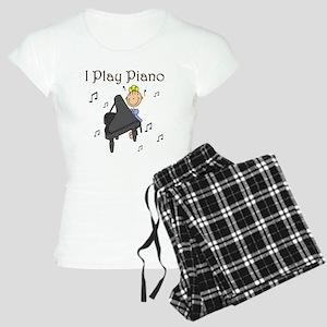 I Play Piano Women's Light Pajamas