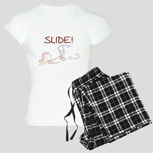 Baseball Slide Women's Light Pajamas