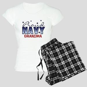 Proud Navy Grandma Women's Light Pajamas