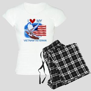 Love My Vietnam Veteran Women's Light Pajamas
