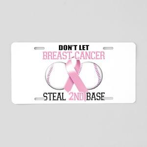 Don't Let Breast Cancer Steal Aluminum License Pla