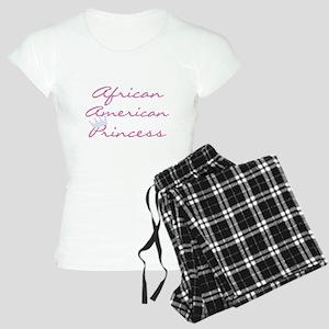 African American Princess Women's Light Pajamas