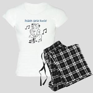 Polish Girls Rock Women's Light Pajamas